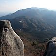 重ね岩からの石榑峠