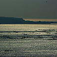 垂水の輝く海