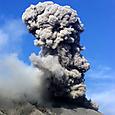 活発な桜島噴火
