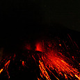 桜島昭和火口の噴火