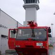 モリタの空港用化学車