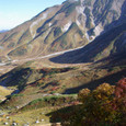 紅葉が始まっている立山