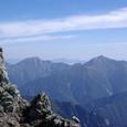 後立山連峰を眺めて