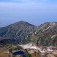 みくりが池と富山湾