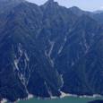 針ノ木岳と黒部湖