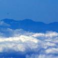 白山も雲に隠れそう