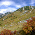 紅葉と雄山