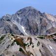 山の字の劔岳