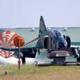 RF-4にドラグシュート