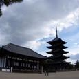 五重塔と東金堂
