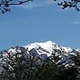 雪帽子の笠ヶ岳