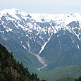 笠ヶ岳と抜戸岳