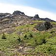 焼岳の北尾根