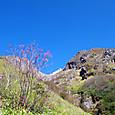 下堀沢右岸の登山道を登る