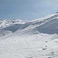 雪庇の巻き込み