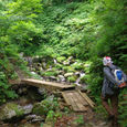 池ノ又谷の登山口
