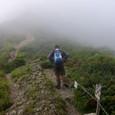 越美山地稜線へ