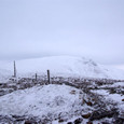 地蔵山からの熊野岳