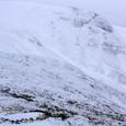 荒々しい熊野岳西壁